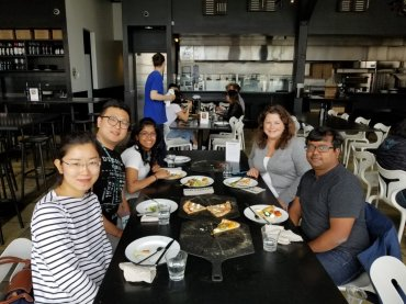 Lab lunch, Oct 2018